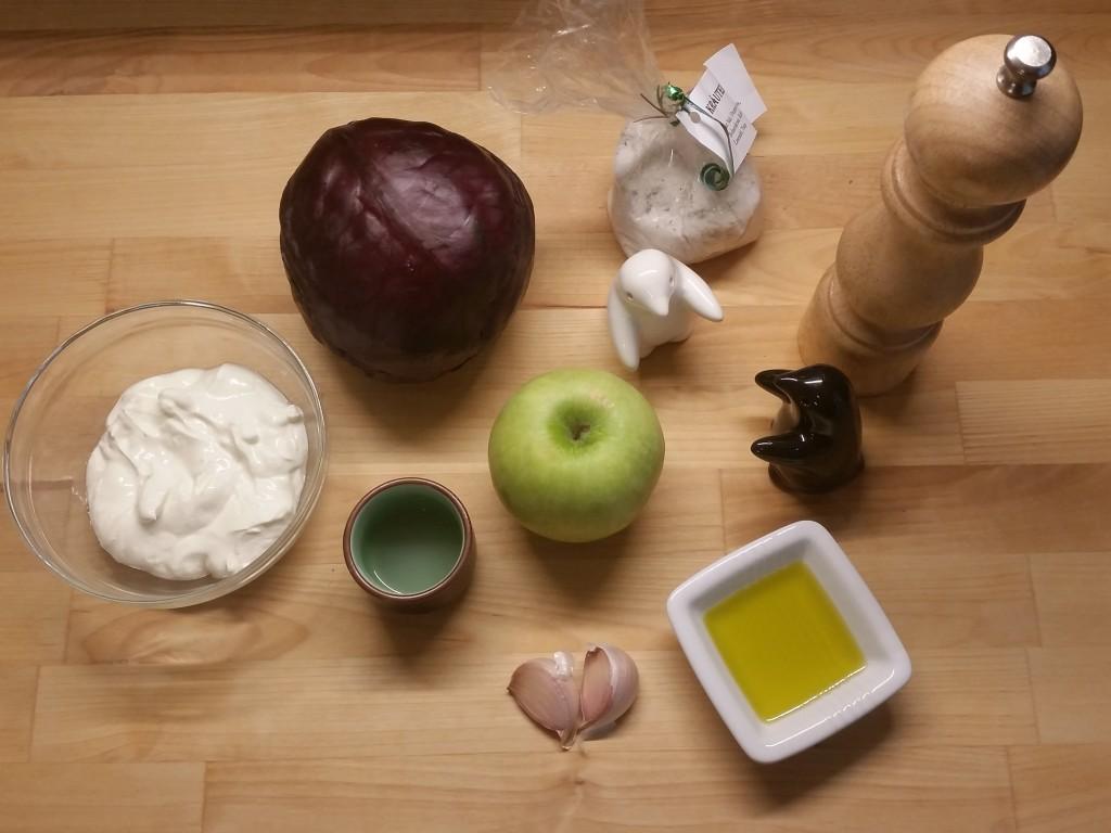 Rotkraut-Apfel-Salat 01